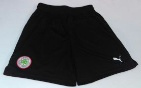 Black Training Shorts